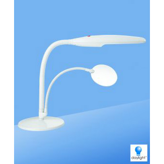 Swan Table Lamp, White