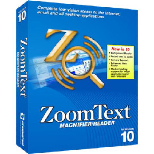 Zoom Text - Logiciel de Grossissement avec Synthèse Vocale