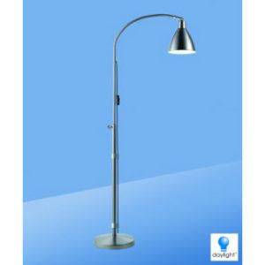 Lampe sur pied Flexi-vision, Chrome
