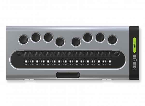 esys 24 - Plage et clavier braille