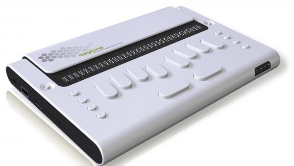 esytime 32 - Bloc-notes, ordinateur Braille, et terminal Braille