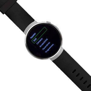 Téléphone-montre adapté parlant M-Line